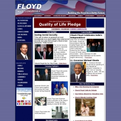 Official Campaign Web Site - Chuck Floyd