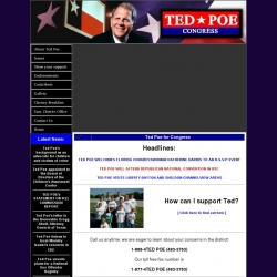 Official Campaign Web Site - Ted Poe