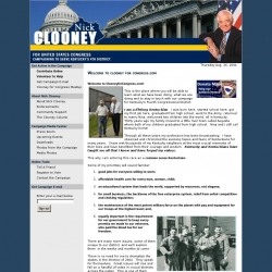 Official Campaign Web Site - Nick Clooney