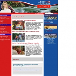 Official Campaign Web Site - Beth Troutman