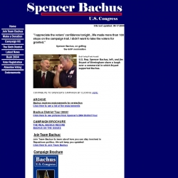 Official Campaign Web Site - Spencer Bachus