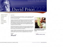 Official Campaign Web Site - David E. Price