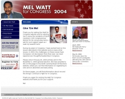 Official Campaign Web Site - Melvin L. Watt
