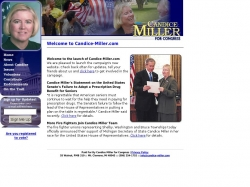 Official Campaign Web Site - Candice S. Miller