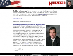 Official Campaign Web Site - Darin Hunzeker