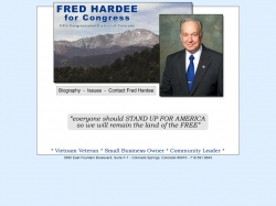 Official Campaign Web Site - Fred Hardee
