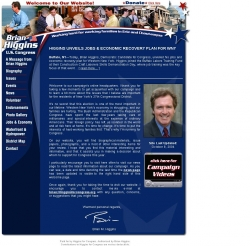 Official Campaign Web Site - Brian Higgins