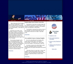 Official Campaign Web Site - Mike Laba