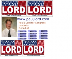 Official Campaign Web Site - Paul Lord
