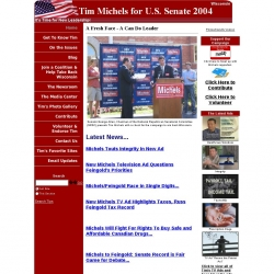 Official Campaign Web Site - Tim Michels