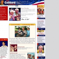 Official Campaign Web Site - Mike Gabbard