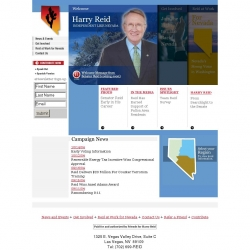Official Campaign Web Site - Harry Reid