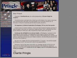 Official Campaign Web Site - Charles F. Pringle Sr.