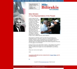 Official Campaign Web Site - Michael Bilirakis