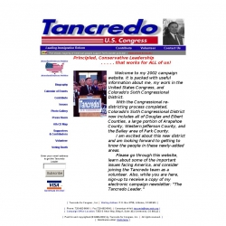 Official Campaign Web Site - Thomas G. Tancredo