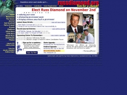 Official Campaign Web Site - Russ Diamond