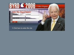 Official Campaign Web Site - Robert C. Byrd