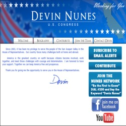 Official Campaign Web Site - Devin Nunes