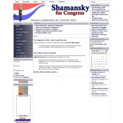 Official Campaign Web Site - Robert N. Shamansky