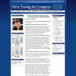Official Campaign Web Site - Steven Young