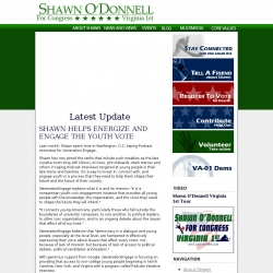 Official Campaign Web Site - Shawn Michael O'Donnell