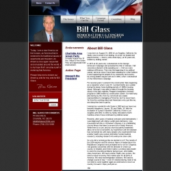 Official Campaign Web Site - Bill Glass
