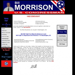 Official Campaign Web Site - William Lloyd Morrison