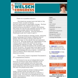 Official Campaign Web Site - Virginia Anne Welsch