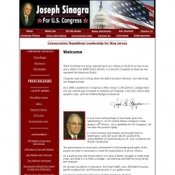 Official Campaign Web Site - Jose Sinagra