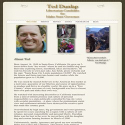 Official Campaign Web Site - Ted Dunlap