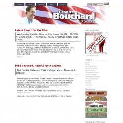 Official Campaign Web Site - Michael J. Bouchard
