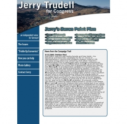 Official Campaign Web Site - Jerry Trudell