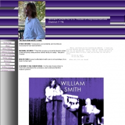 Official Campaign Web Site - William J. Smith