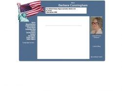 Official Campaign Web Site - Barbara Cunningham