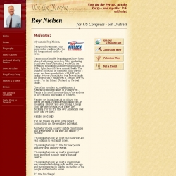 Official Campaign Web Site - Roy Nielsen