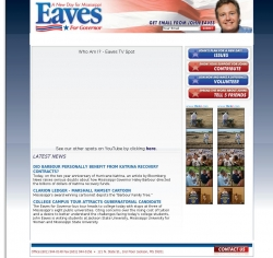 Official Campaign Web Site - John Eaves