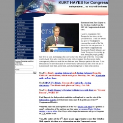 Official Campaign Web Site - Kurt Hayes