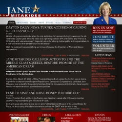 Official Campaign Web Site - Louella Jane Mitakides