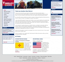 Official Campaign Web Site - Edward R. Tinsley III