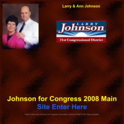 Official Campaign Web Site - Lawrence Tufts Johnson