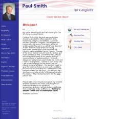 Official Campaign Web Site - Paul Smith