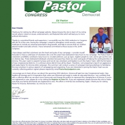 Official Campaign Web Site - Ed Pastor
