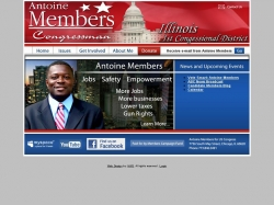Official Campaign Web Site - Antoine Members