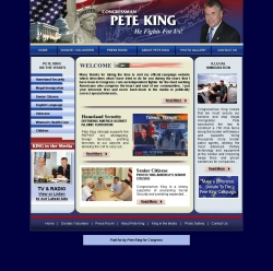 Official Campaign Web Site - Peter T. King