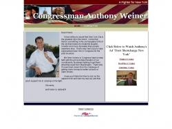 Official Campaign Web Site - Anthony D. Weiner