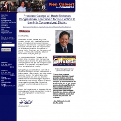 Official Campaign Web Site - Ken Calvert