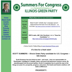 Official Campaign Web Site - Scott Summers
