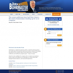 Official Campaign Web Site - James R. Buhrmaster