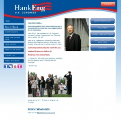 Official Campaign Web Site - Henry H. Eng