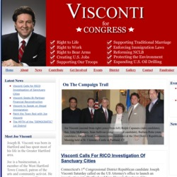 Official Campaign Web Site - Joseph B. Visconti
